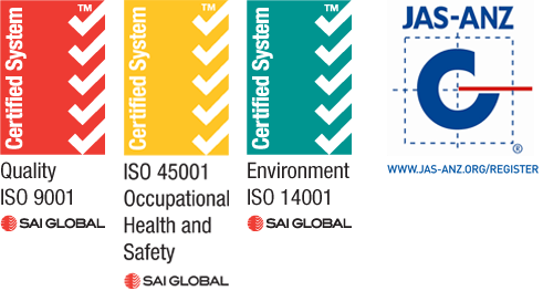 ISO Quality WHS Environmental Accreditation