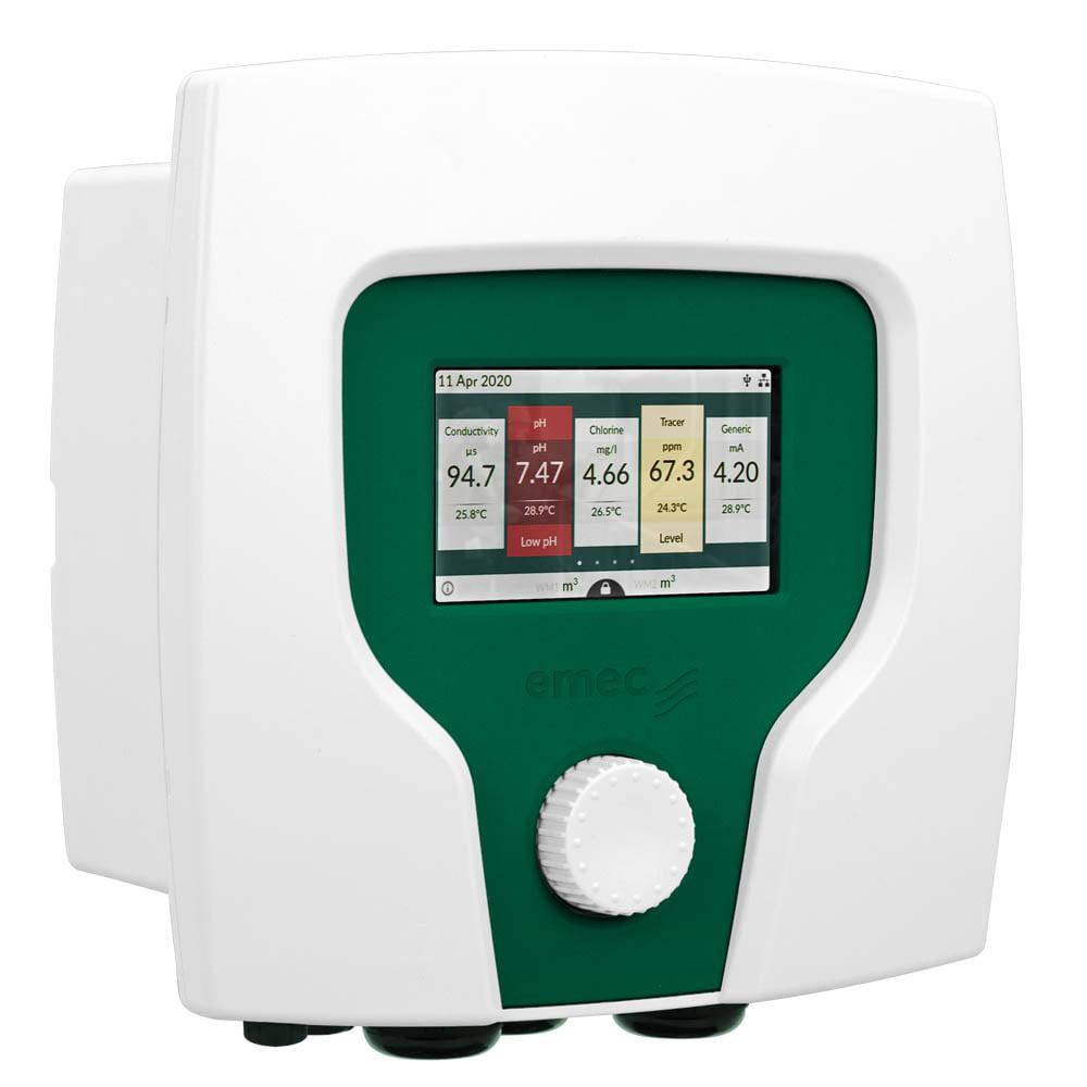 Multi-Parameter-Controller-CENTURIO-touchscreen-6-channel-EMEC CENTP