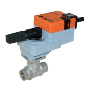 Belimo IP54 LRU230 Actuated Ball Valves (Power to Open & Close)