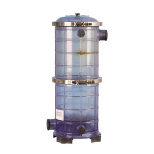 BROM-T-23 Transparent PVC Brominator 23Kg