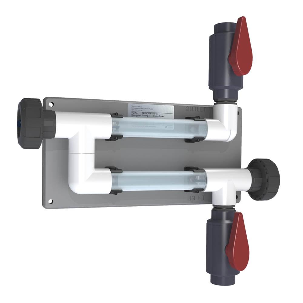 CR-2C-V-CLR-A 20mm (3/4 inch) Coupon Rack - Transparent