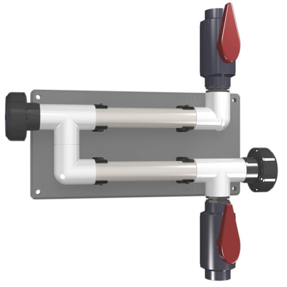 CR-2C-V-PVC-A 20mm (3/4 inch) Coupon Rack