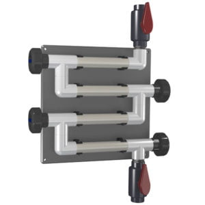 CR-4C-V-PVC-A 20mm (3/4 inch) Coupon Rack