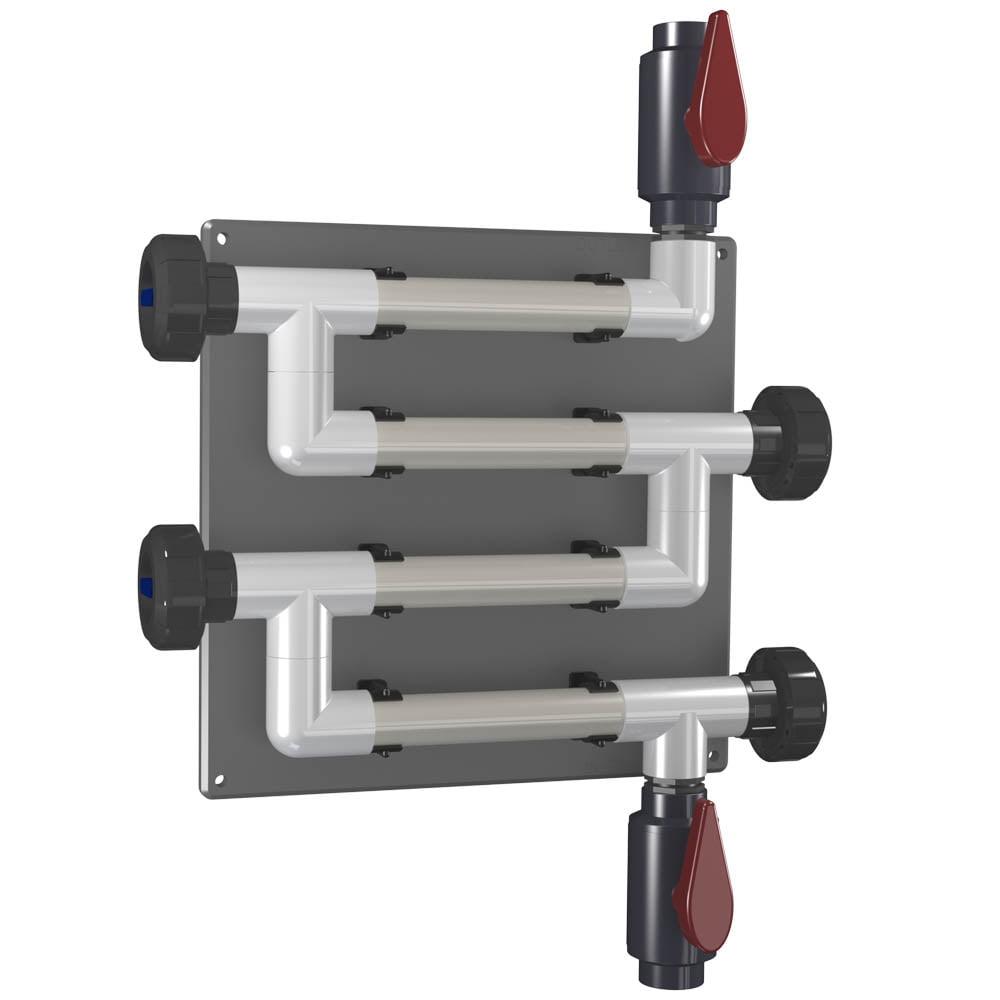 CR-4C-V-PVC-A 20mm (3/4 inch) Coupon Rack