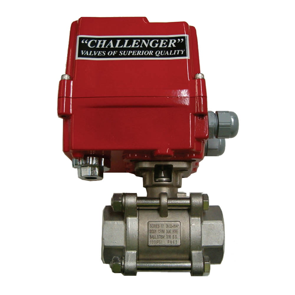 CVA IP67 Actuated SS Ball Valve (240VAC Power to Open & Close)