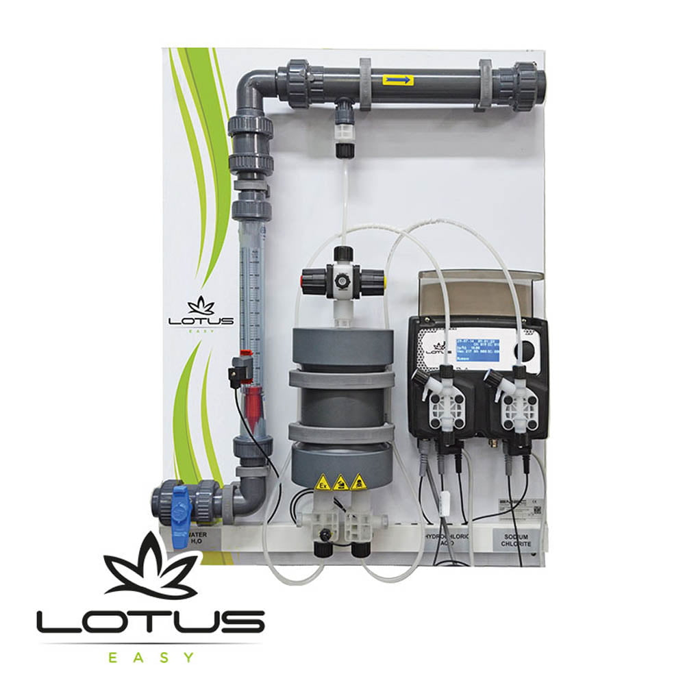 LOTUS EASY Low Cost CLO2 Generator (up to 80 gr/hr)