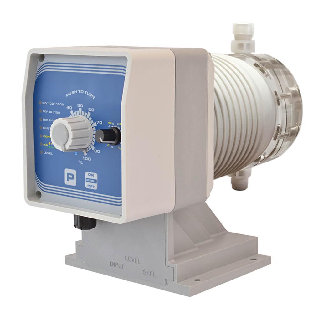 EMEC AMSAPLUS Chlorine Pump (Models from 6l/hr/15b to 30l/hr/3b) PMMA Head