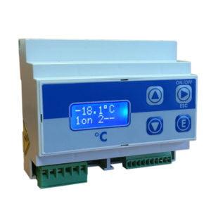 EMEC DIN DIG TEMP Temperature Transmitter/Controller