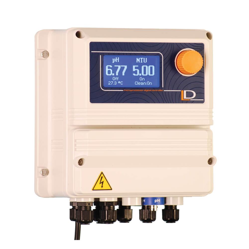 EMEC LDPHTORBH-mA DualpH & Wide Range Turbidity Controller