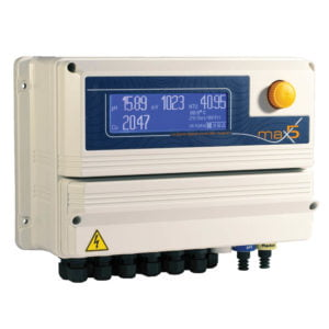 EMEC MAX5 5 Channel Controller for pH/ORP, CL2/CLO2/O3, NTU/DO/EC/Temp