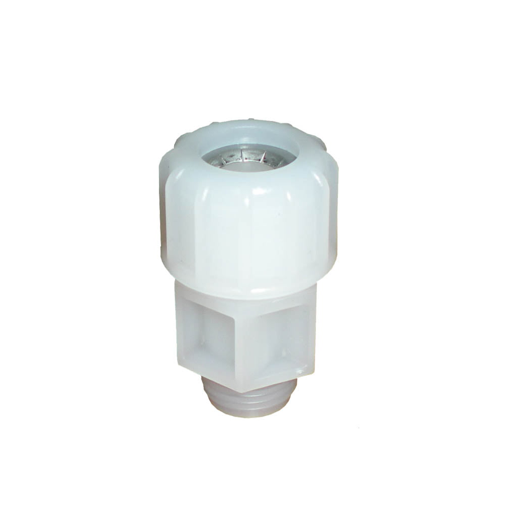 EMEC PEA Compression Fitting for Single 12mm Diar Plastic Electrodes