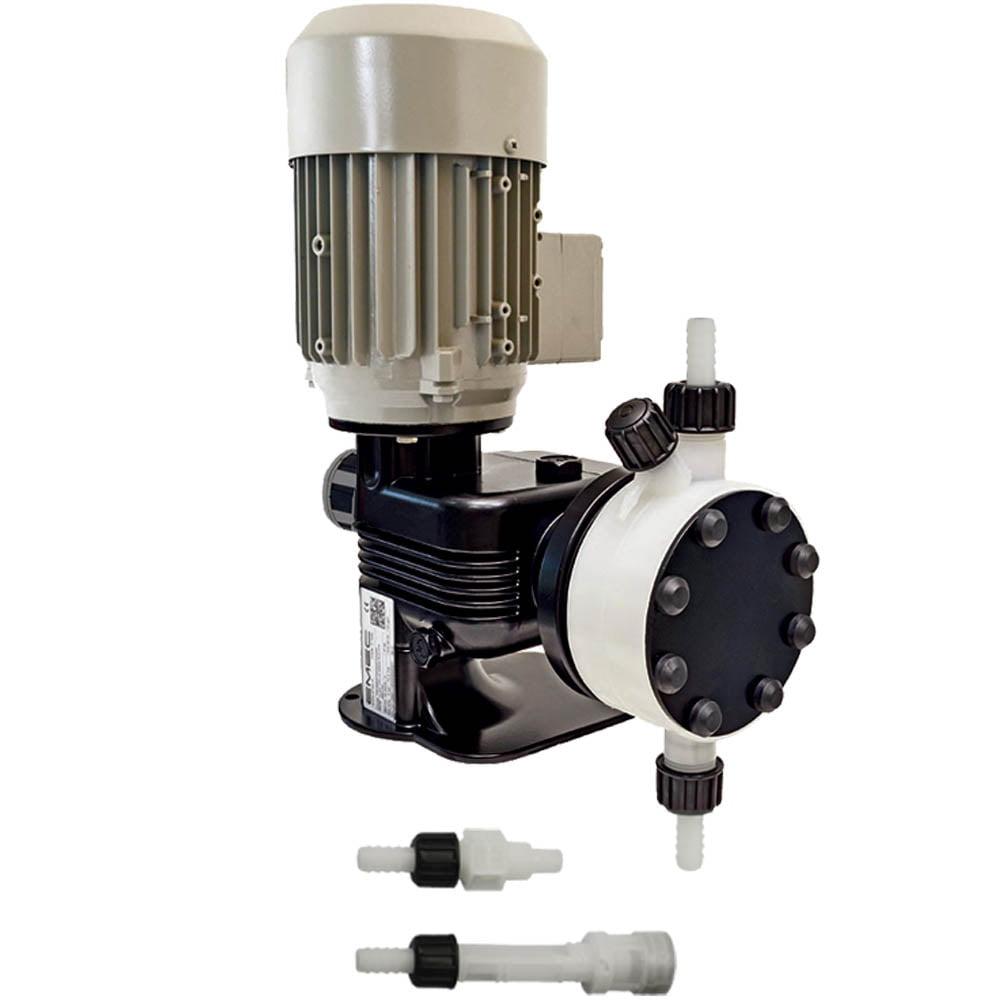 EMEC PR 07 160 PVDF Motor Driven dosing pump (160 l/hr @ 7 bar)