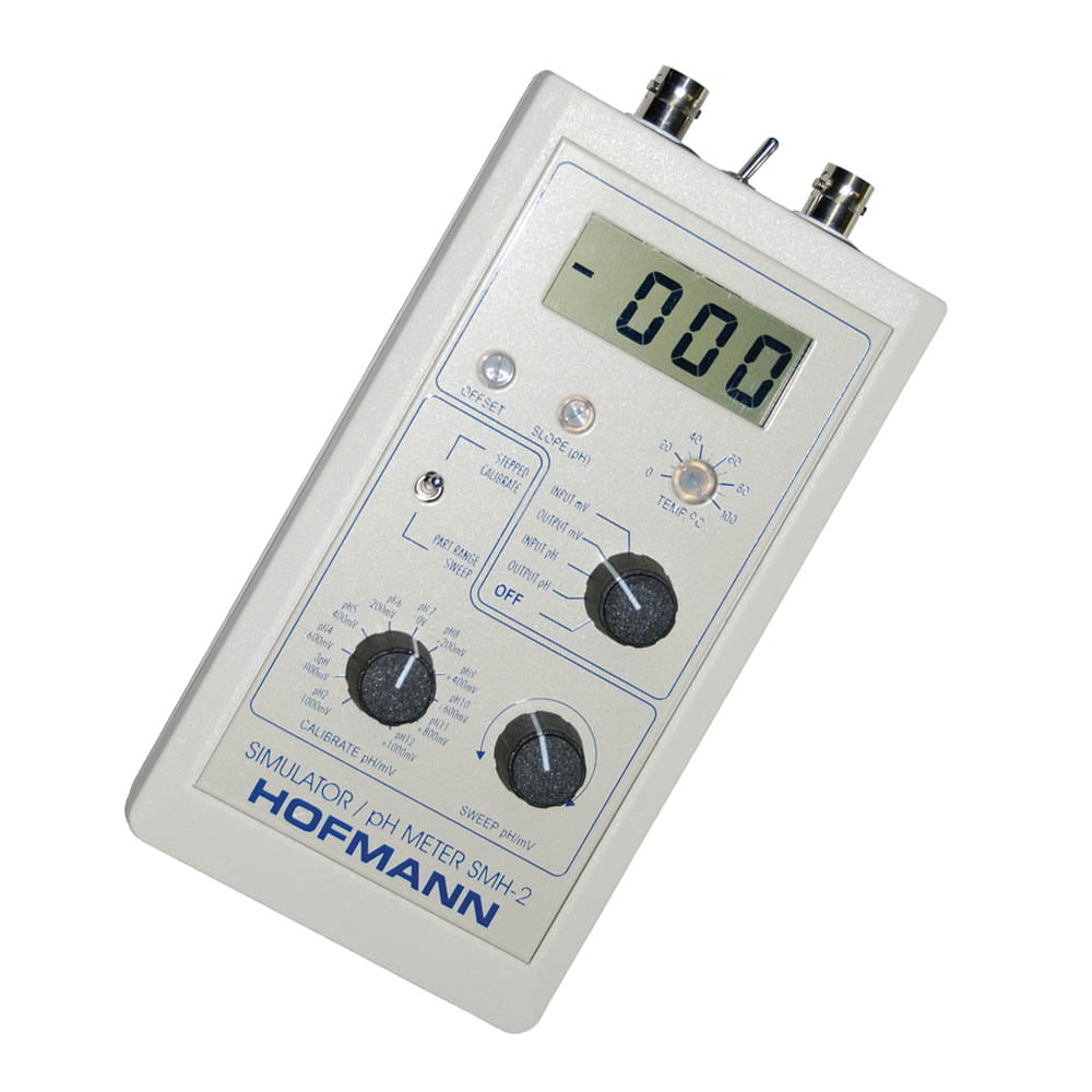 HOF SMH-2 Simulator & Meter for pH & ORP (Sensors optional)