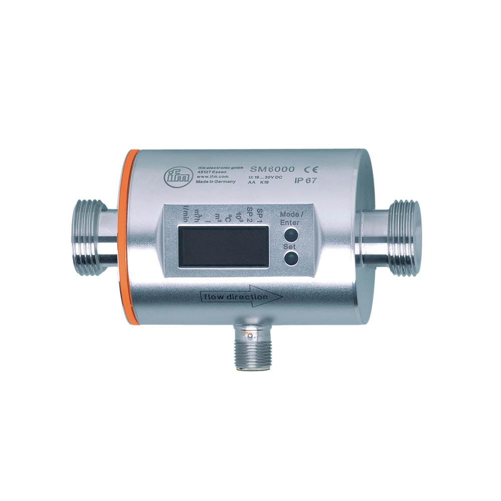 IFM SM6000 Flow Sensor G1/2 0.1-25 l/min FKM