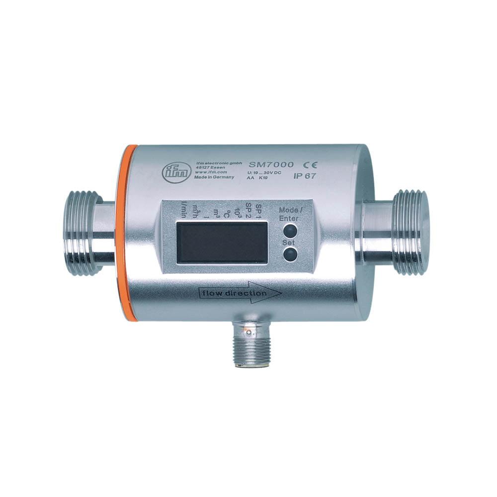 IFM SM7000 Flow Sensor G3/4 0.2-50 l/min FKM