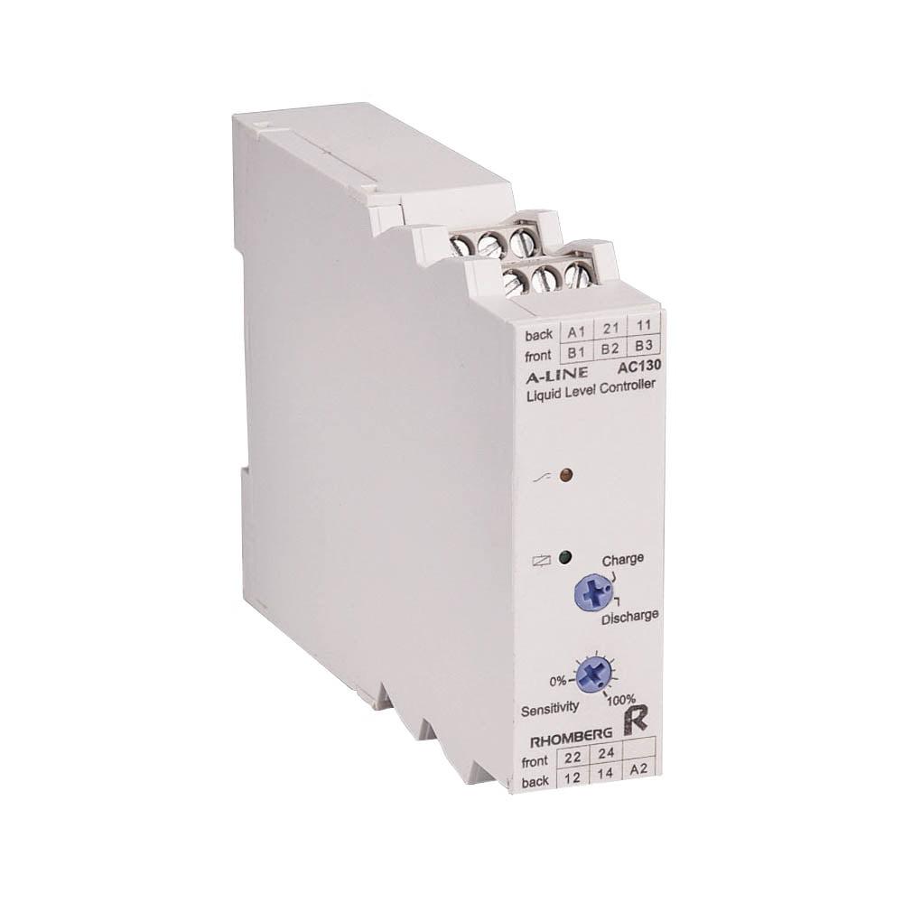 RE AC130 Liquid Level Relay (single or dual level) 1 C/O or 2 C/O